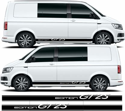 "Picture of VW T5 / T6 ""Edition GT25"" side Stripes / Stickers"