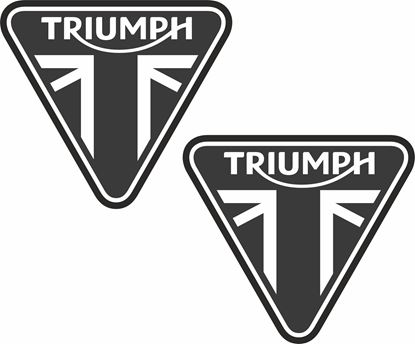 "Picture of ""Triumph"" Decals / Stickers"