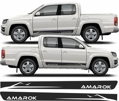Picture of Amarok  Mountain side Stripes / Stickers