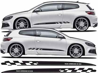 Picture of Scirocco 2008 on side Stripes / Stickers