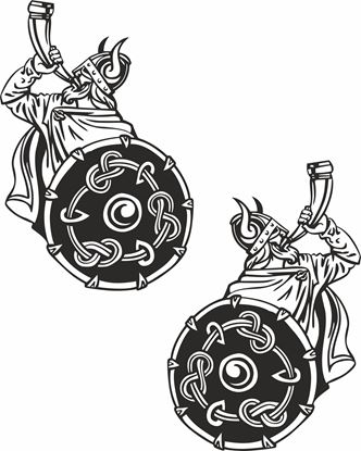 Picture of Viking panel  Stickers / Decals