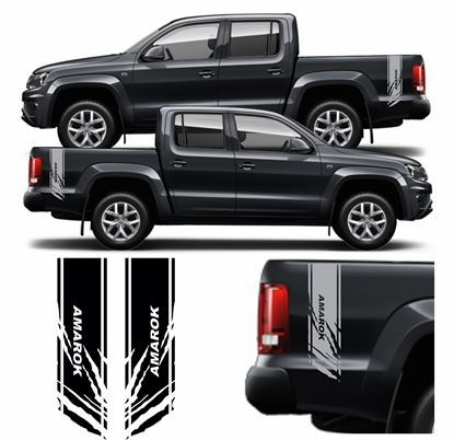 Picture of Amarok side Bed Stripes / Stickers