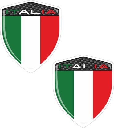Picture of Italia Exterior Badges 60mm