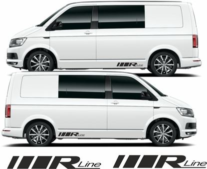 "Picture of VW T5 / T6 ""R Line"" Decals . Stickers"
