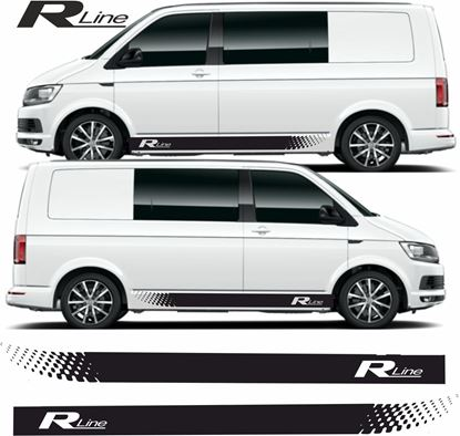 "Picture of VW T5 / T6  ""R Line""  Stripes / Stickers"