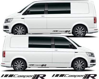 "Picture of VW T5 / T6 ""Camper R"" Decals Stickers"