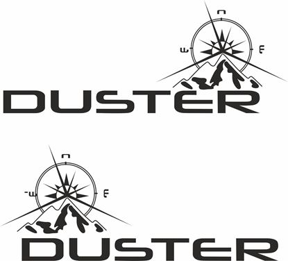 Picture of Dacia Duster Decals / Stickers