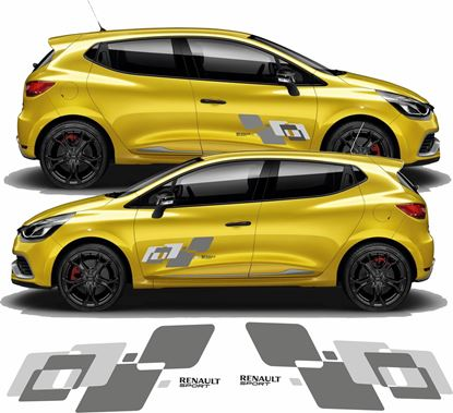Picture of Renault Clio Sport side Decals  / Stickers