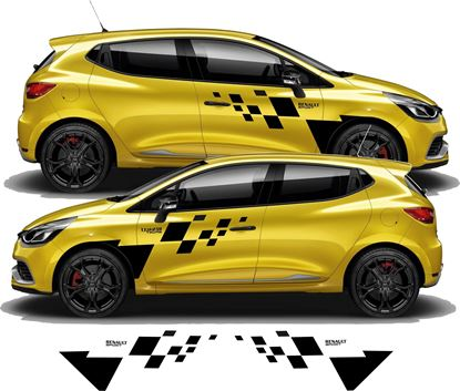 Picture of Renault Clio side Decals / Stickers