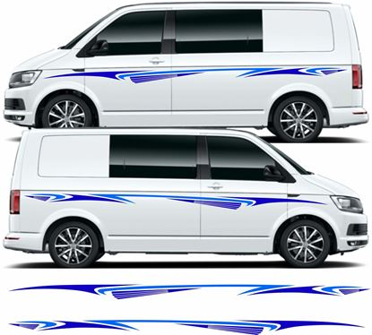 Picture of VW T5 / T6 side Graphics / Stickers