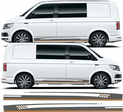 Picture of VW T5 / T6 side side Stripes / Stickers