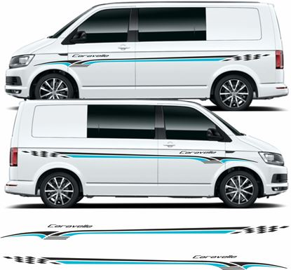 "Picture of VW T5 / T6 ""Caravelle"" side Stripes / Graphics"