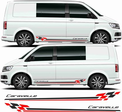 "Picture of VW T5 / T6 ""Caravelle"" Stripes / Stickers"