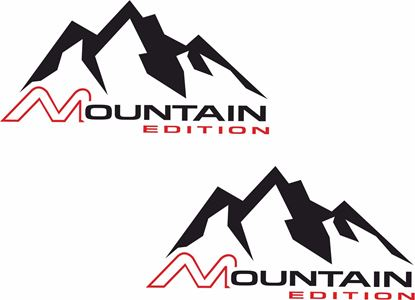 "Picture of ""Mountain Edition"" Decals / Stickers"