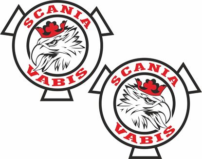 Picture of Scania Vabis Decals / Stickers