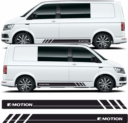 "Picture of VW T5 / T6 ""4 Motion"" Stripes / Stickers"