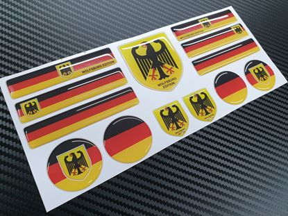 Picture of Wolfsburg  Edition Gel Badges sheet