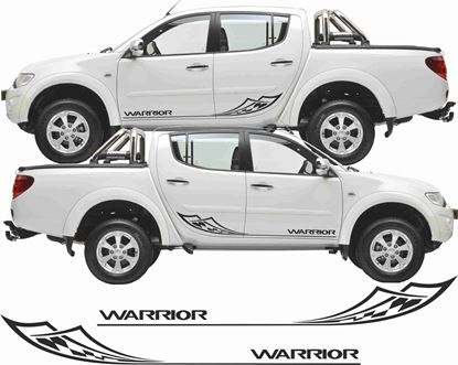 Picture of Mitsubishi L200 Warrior side Graphics / Stickers