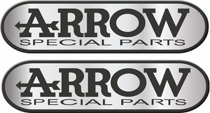 "Picture of ""Arrow Special Parts"" Track and street race sponsor Decals / Stickers"