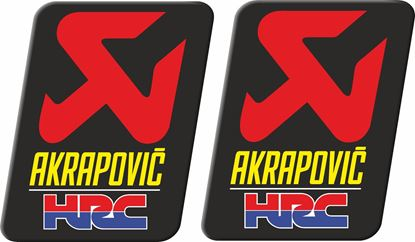 "Picture of Honda ""Akrapovic HRC""  Decals / Stickers"