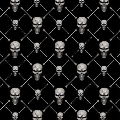 Picture of Skull & Cross Bones Vinyl Wrap Sheet
