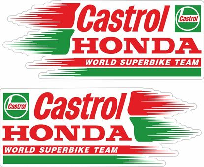 Picture of Honda Castrol Team Decals / Stickers