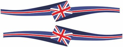 Picture of GB Ribbon Decals / Sticker