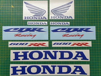 Picture of Honda CBR 600RR Fireblade 2007 HRC Style Decals / Stickers