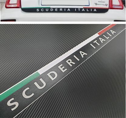 Picture of Fiat 595 / 500 Abarth Scuderia Italia lower Hatch Decal / Sticker