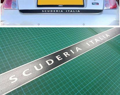 Picture of Fiat 595 / 500 Abarth Scuderia Italia lower Hatch Decal / Sticker 1