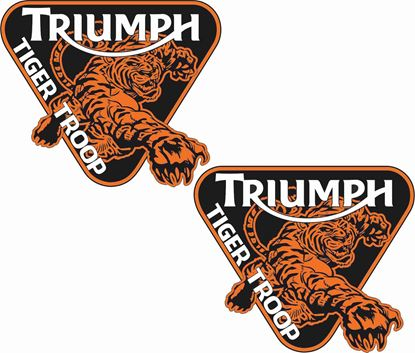 Picture of Union Tiger Troop Decals / Stickers
