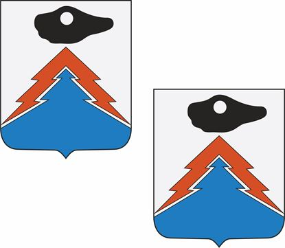 Picture of 12th Signal Battalion Coat of Arms Stickers