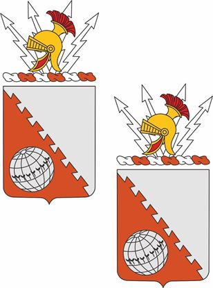 Picture of 30th Signal Battalion Coat of  Arms Stickers