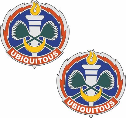 Picture of 105th Signal Battalion DUI Stickers