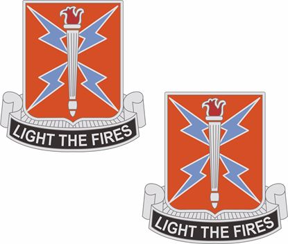 Picture of 129th Signal Battalion Coat of Arms Stickers