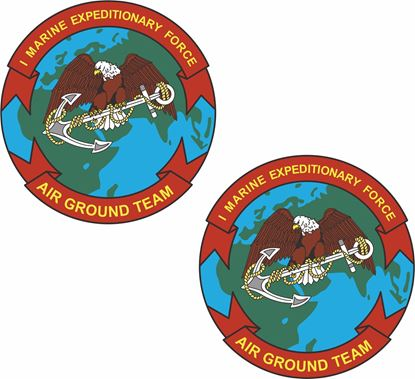 Picture of 1st Marine Expeditionary Force  Stickers