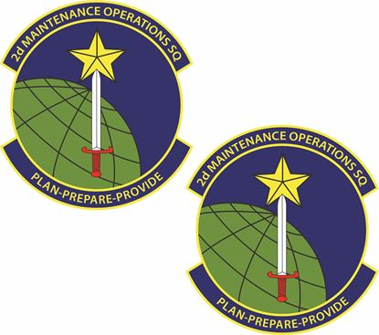 Picture of 2d Maintenance Operations SQ Stickers