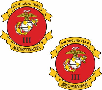 Picture of 3rd Marine Expeditionary Force Stickers