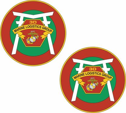 Picture of 3rd Marine Logistics Group Stickers