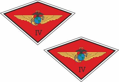 Picture of 4th Marine Aircraft Wing Stickers