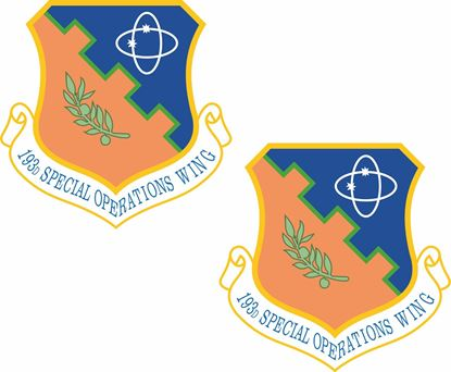 Picture of 193rd Special Operations Wing Stickers