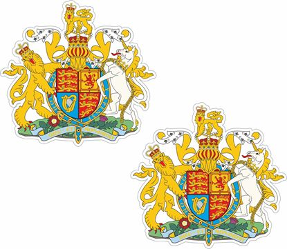 Picture of Coat of Arms Stickers
