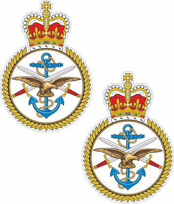 Picture of Armed Forces, Combined Services Stickers