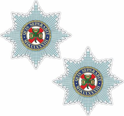 Picture of Irish Guards Stickers