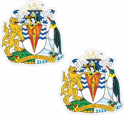 Picture of Antarctic Territory Coat of Arms Stickers