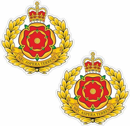Picture of Duke of Lancaster`s Regiment (LANCS) Stickers
