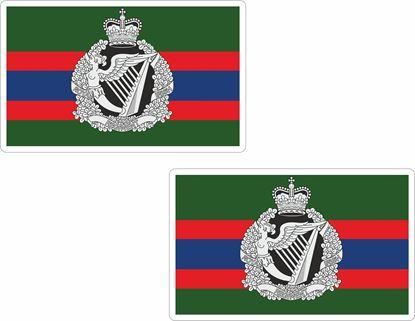 Picture of Irish Regiment Flag  Stickers