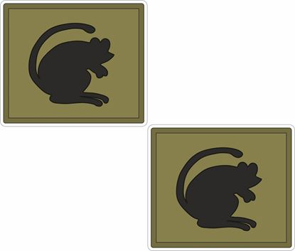 Picture of 4th Infantry Brigade and Headquarters North East (The Black Rats) Stickers