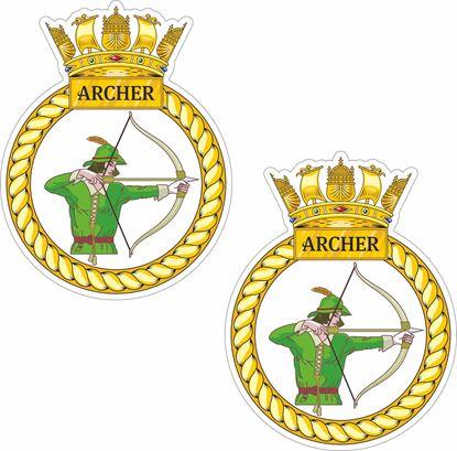 Picture of HMS Archer (P264) Stickers