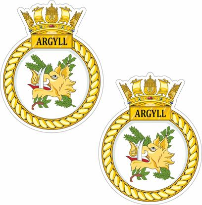 Picture of HMS Argyll (F231), frigate Stickers